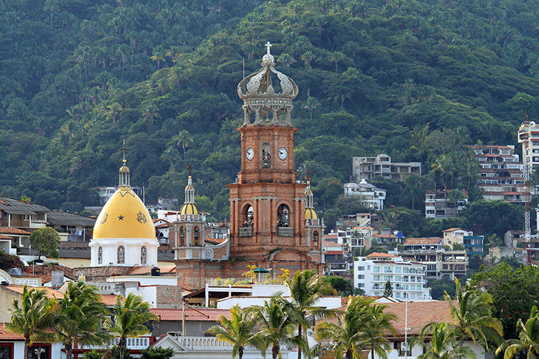 Puerto Vallarta Weather Our Lady of Guadalupe Church