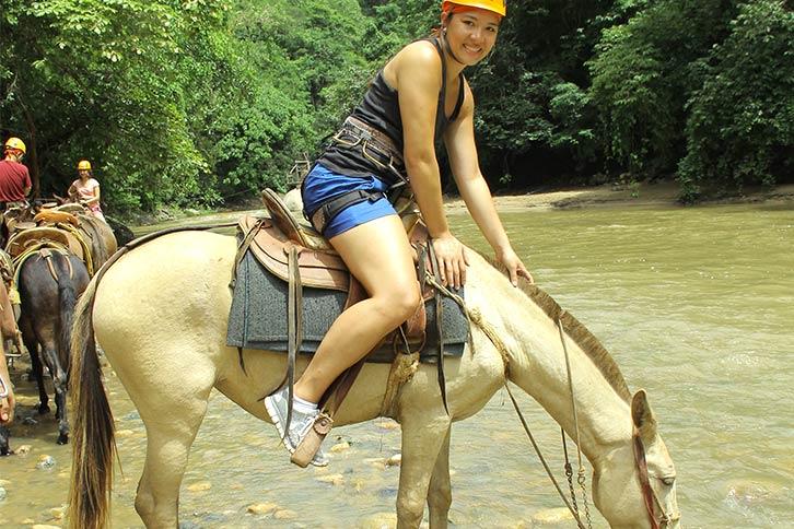 vallarta canopy river experdition mule ride