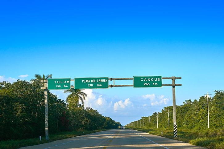 airport transportation to riviera maya