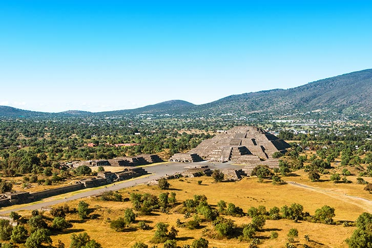 Mexico City Teotihuacan Tour Pyramid Moon