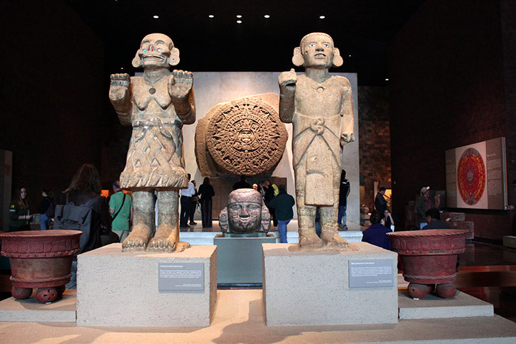 Mexico City Tourist Attractions Anthropology Museum
