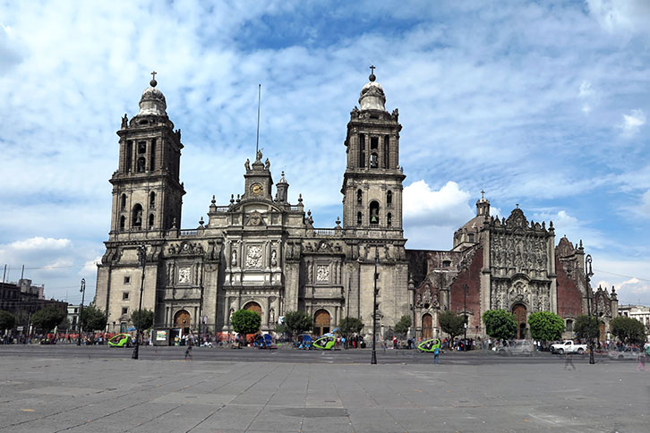 Mexico City Tourist Attractions Metropolitan Cathedral