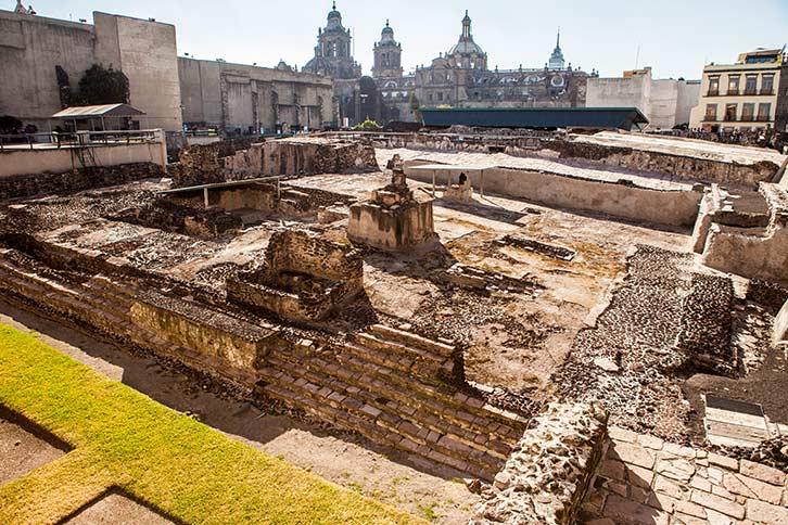 Mexico City Downtown Tour Templo Mayor Tenochtitlan