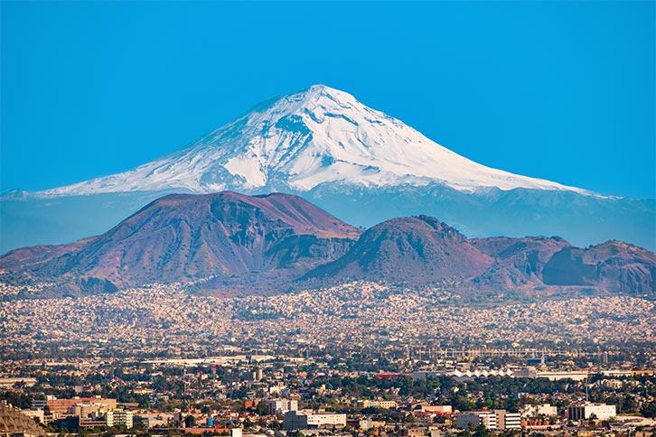 Mexico City Tourist Attractions City Tour Paseo Volcano Tour