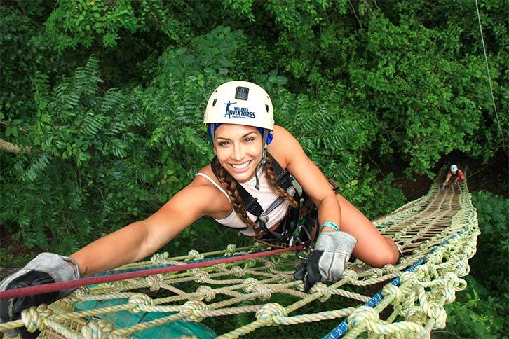 puerto vallarta adventures center net climb