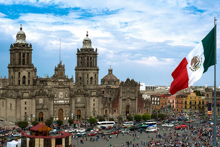 visit downtown mexico city zocalo