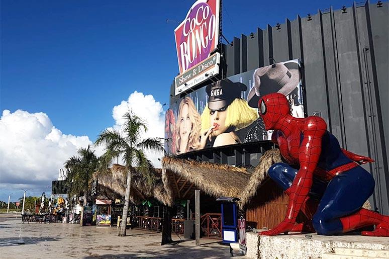 downtown punta cana coco bongo