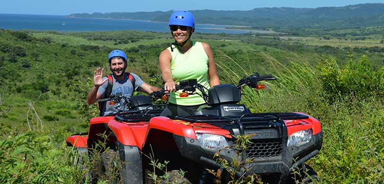 atv tour near dreams las mareas costa rica