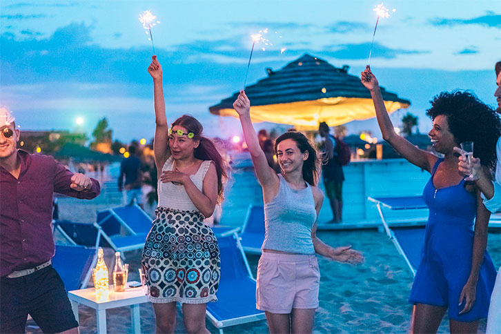 beach party event punta cana