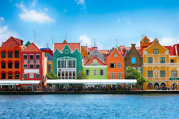 colorful curacao